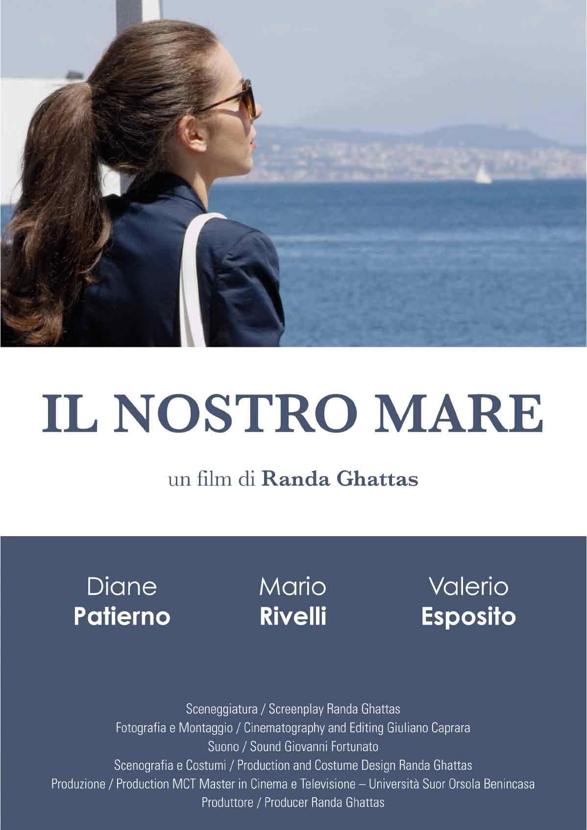 Il nostro mare poster MR8 Productions